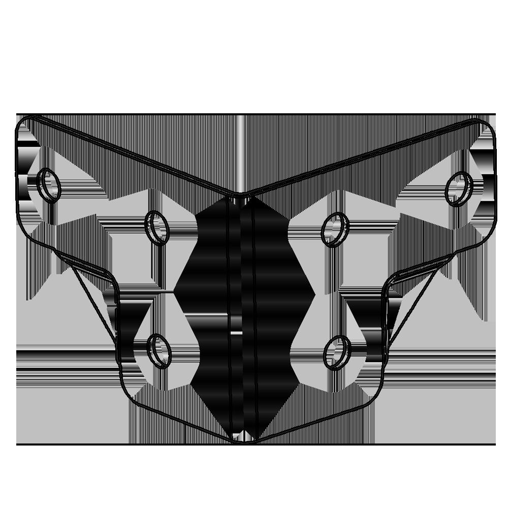 Renforts d'angles pour flight case -